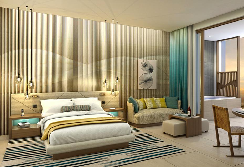 Junior Suite with Ocean View - Hard Rock Hotel Los Cabos  Photo Credit: hardrockhotelloscabos.com