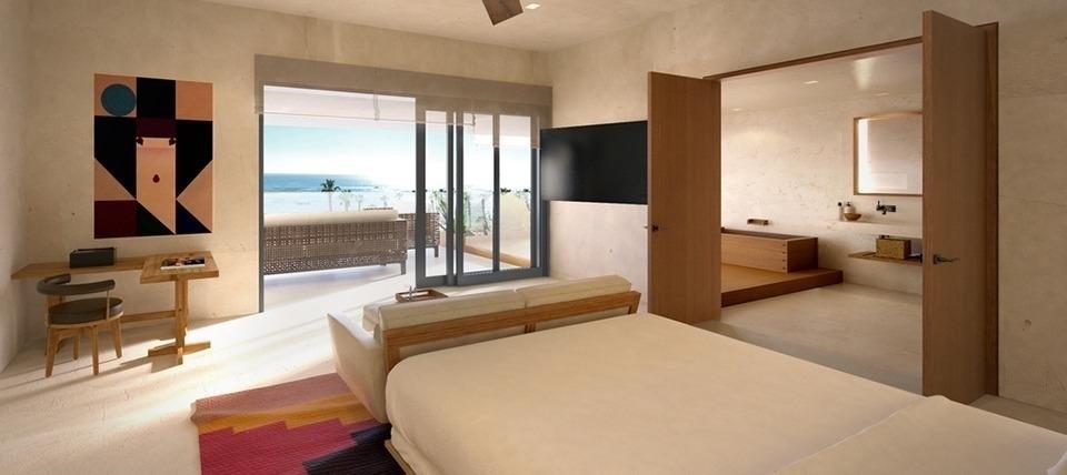 Sake Suite - Nobu Hotel Los Cabos  Photo Credit: allinagents.com