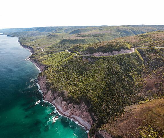 Cape Breton Island, home to the famous Cabot Trail  Photo Credit: novascotia.com