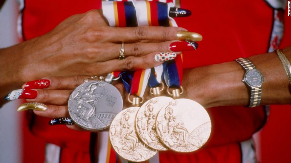 USA Olympic Track Star FLO-JO