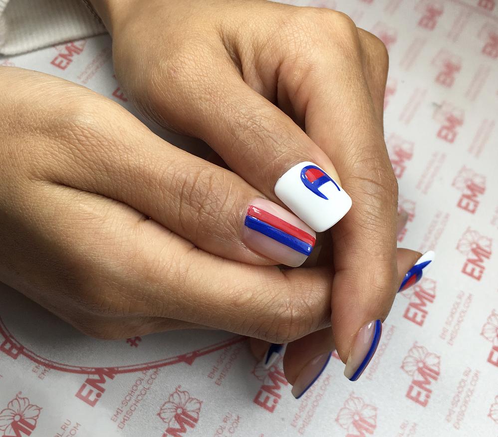 CHAMPION Inspired Nails