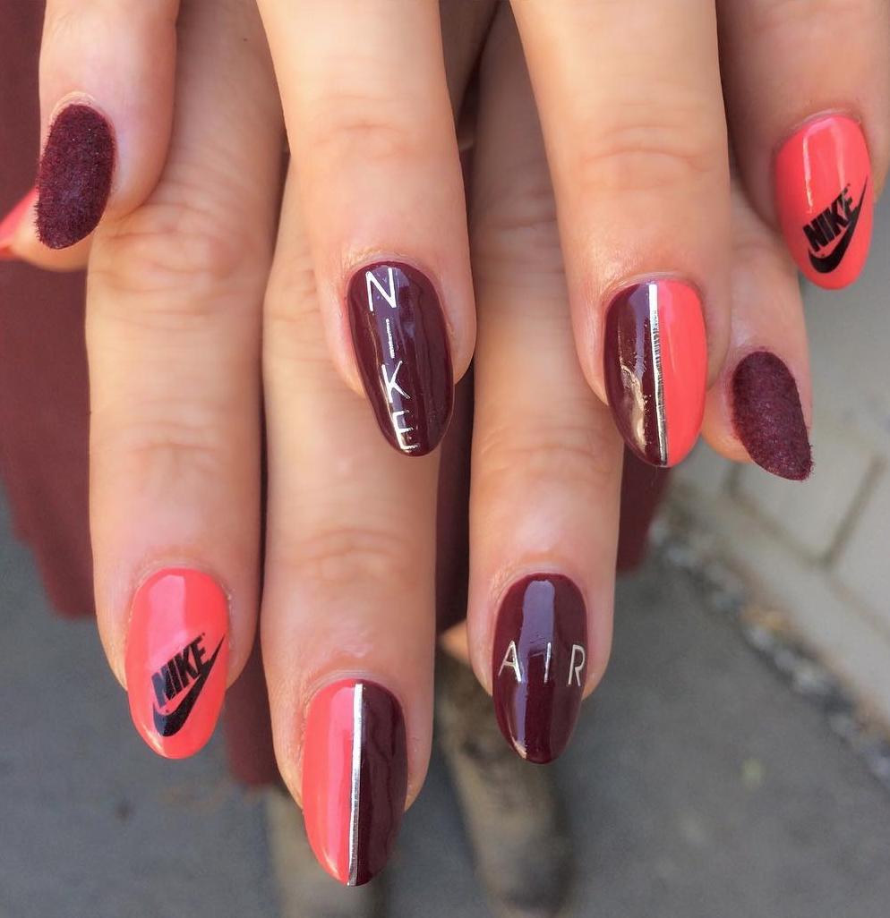 NIKE AIR MAX Inspired Nails