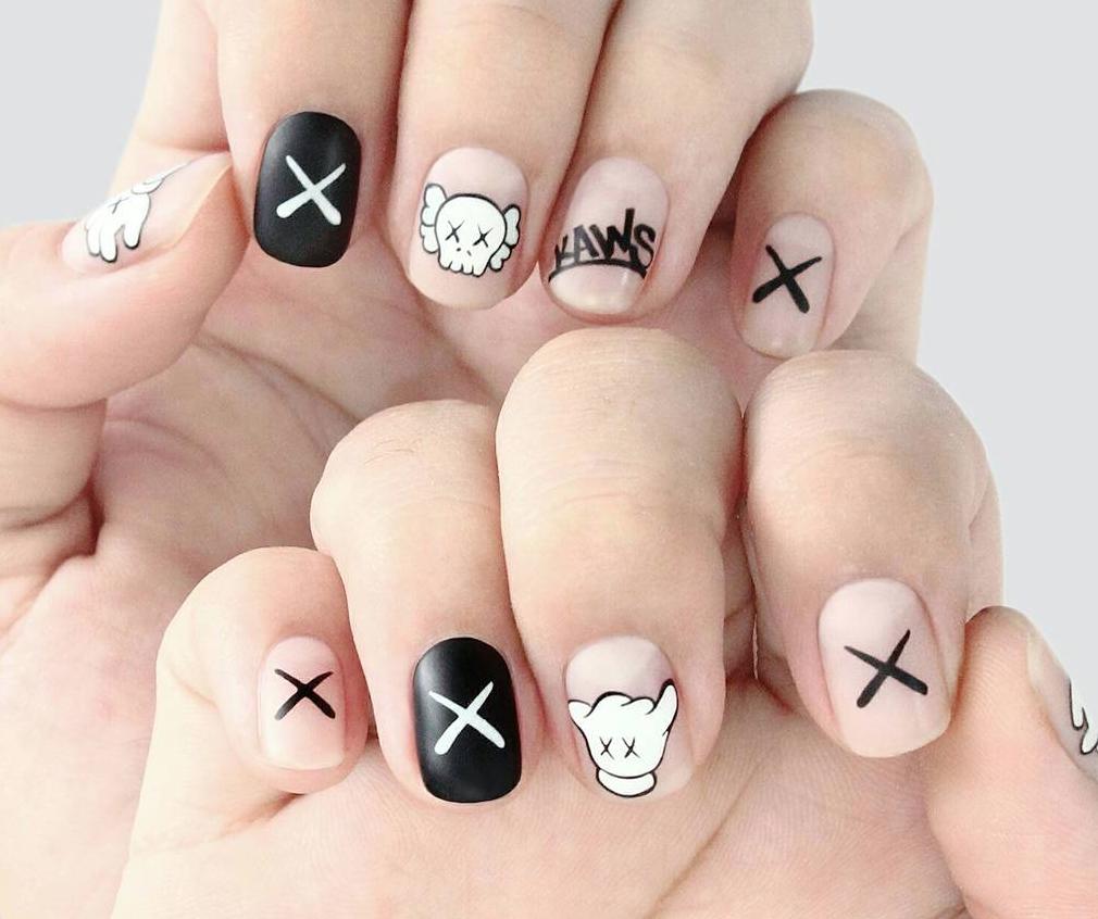 KAWS Inspired Nails