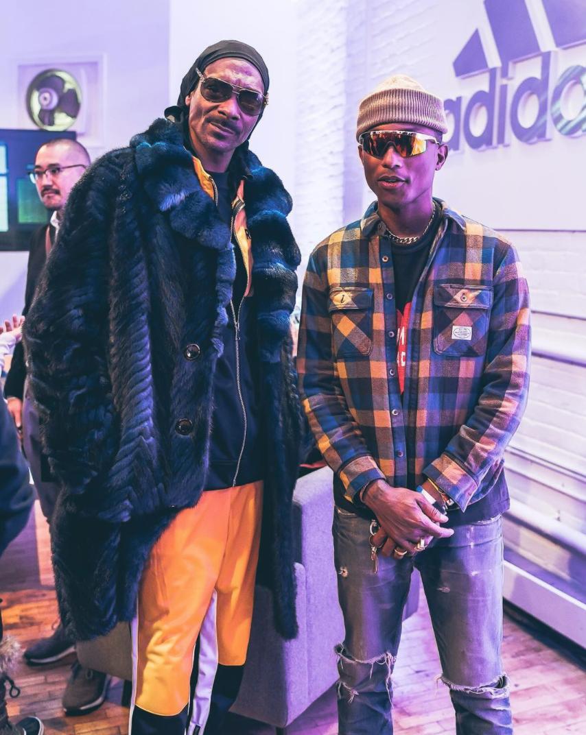 Snoop Dogg & Pharrell / via IG @modernnotoriety