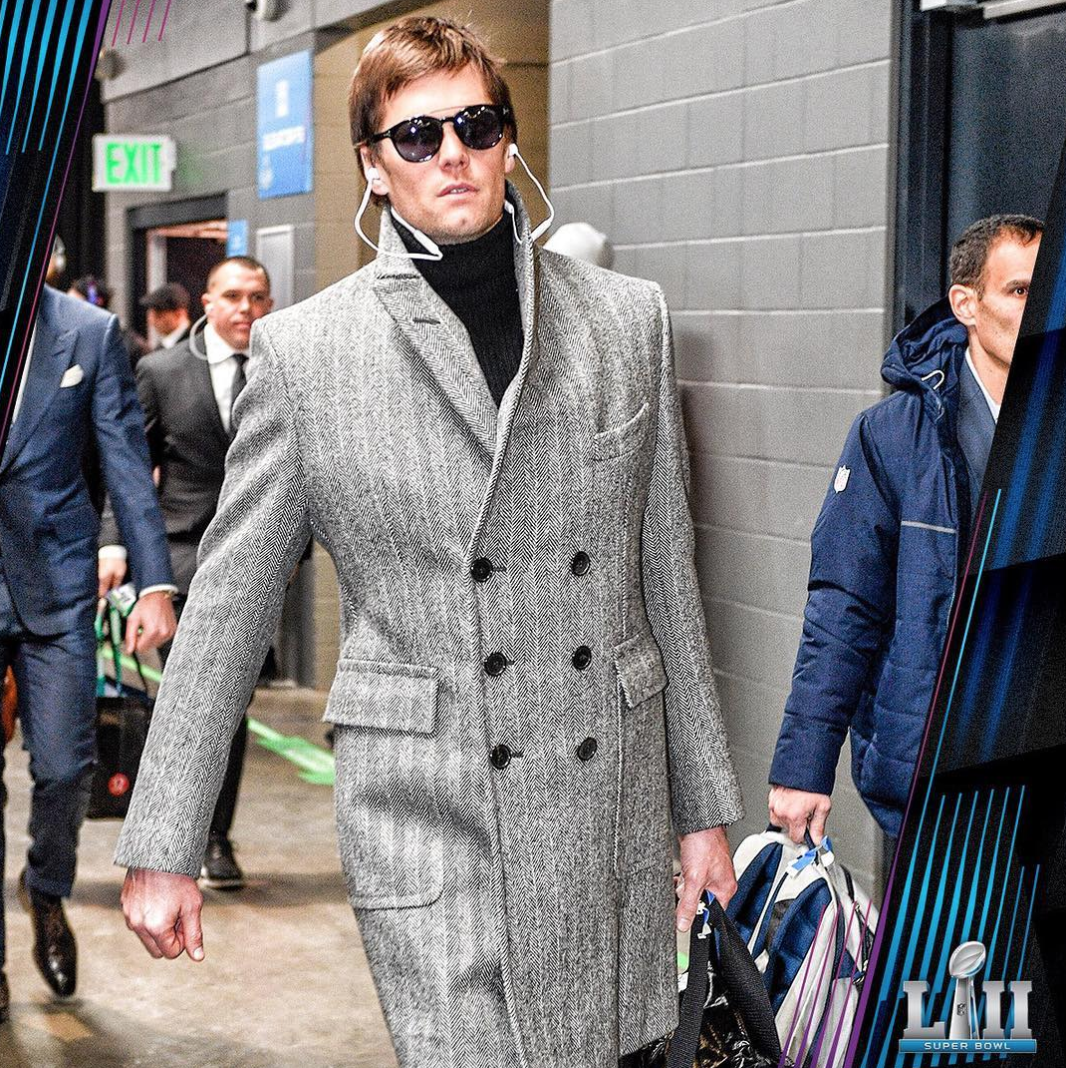 Tom Brady / via IG @patriots