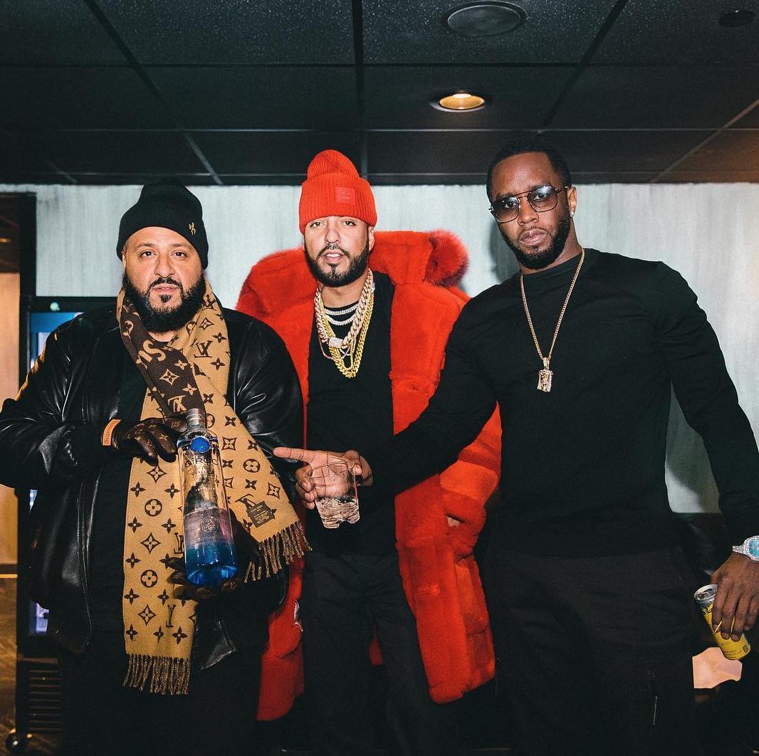 DJ Khaled, French Montana & Diddy / via IG @diddy