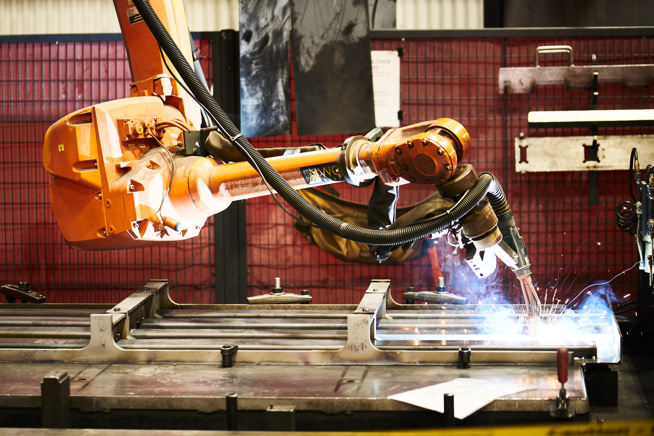 Major Tool & Machine Robotic Welding and Fabrication