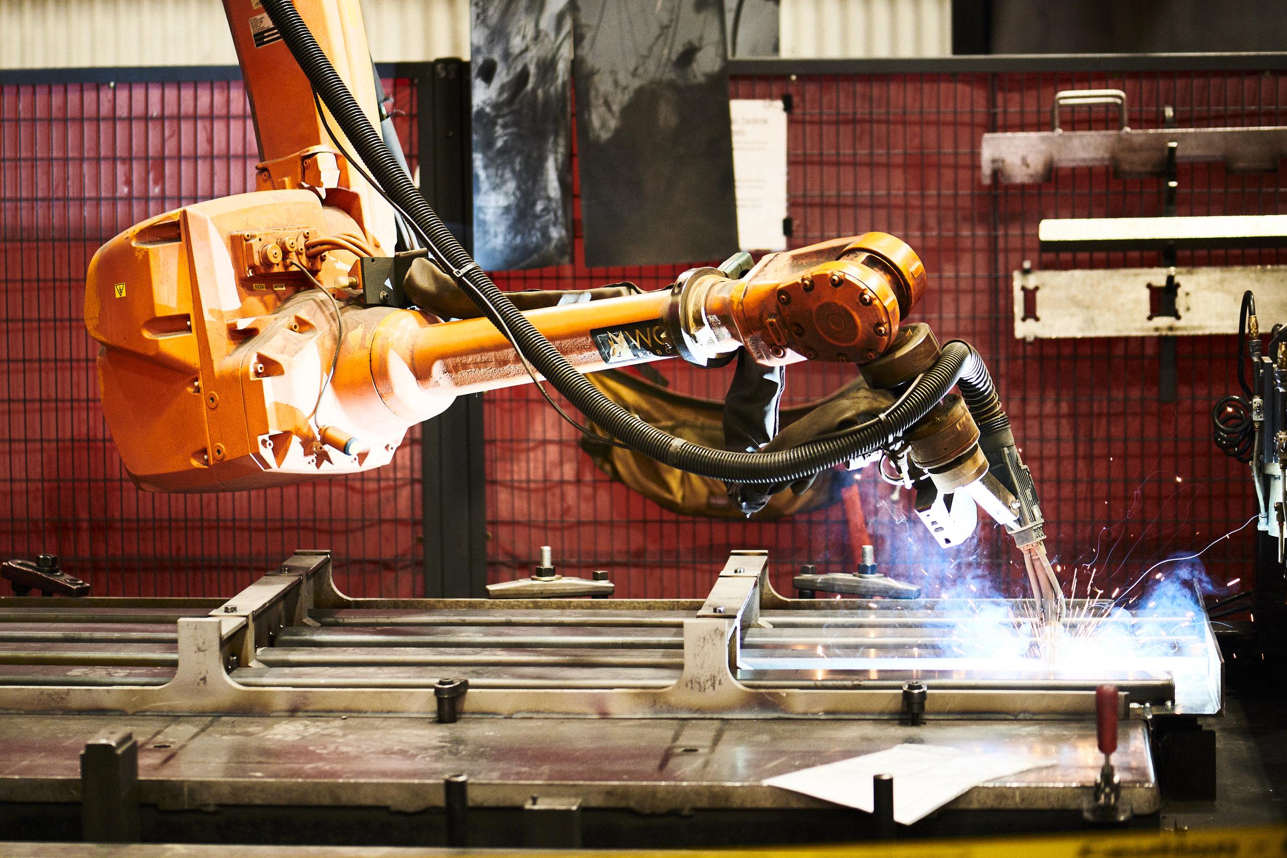 Wolf Robotic Welding