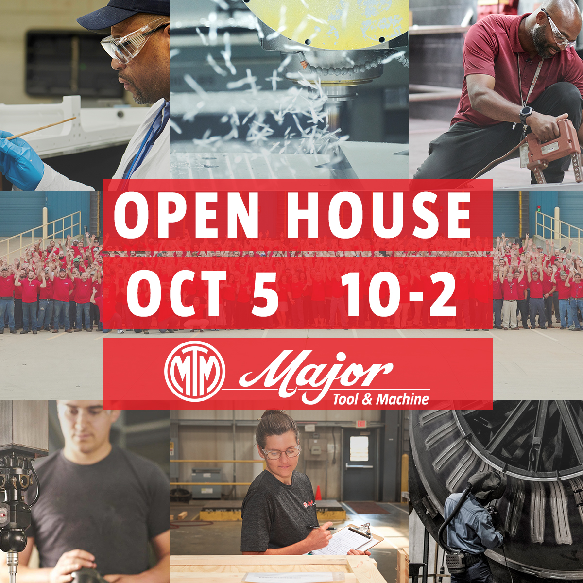 open house major tool machine