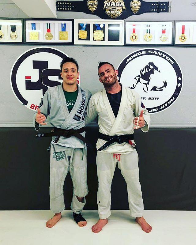 Congratulations to our coach @renatocarvalho98_  for well deserved Brown belt! 🔥 - #jsbjj #bjj