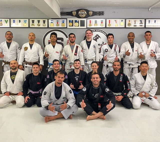 We just finished awesome workshop with @heltonjosejr. Thank you for sharing your knowledge, and tuff few rolls. . If you miss this chance, come tomorrow on open mat at 12!  Oss! . #jsbjj #bjj