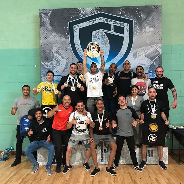 Along with many gold medals we also got the big one! Best academy at @grapplingindustries Dublin. Congratulation everyone at @jsbjj_hq so proud of every single person that makes up our amazing team! #JSBJJFAM #JSBJJ