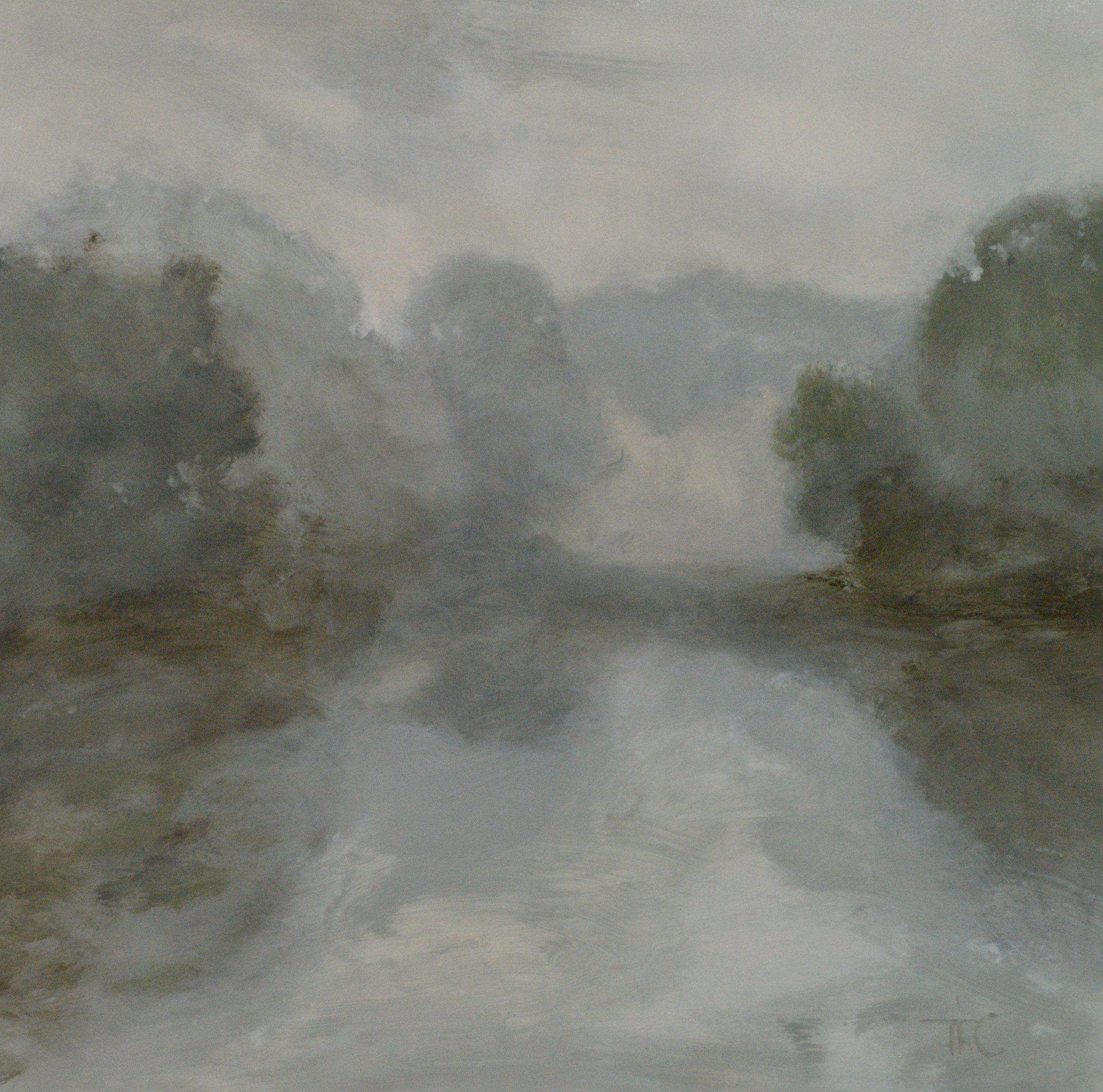 Minimal Lake II 48x48