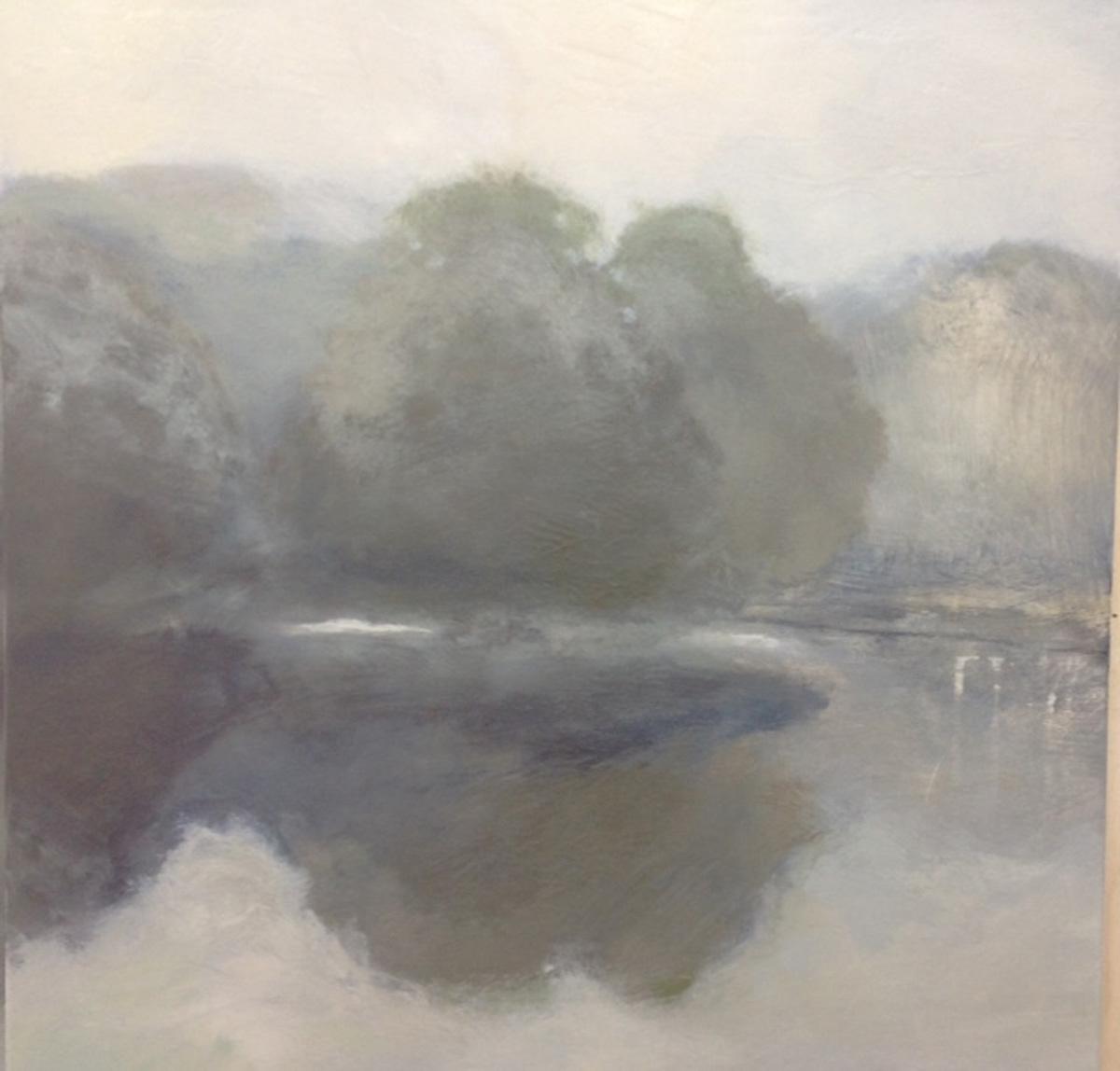 Minimal Lake I 48x48