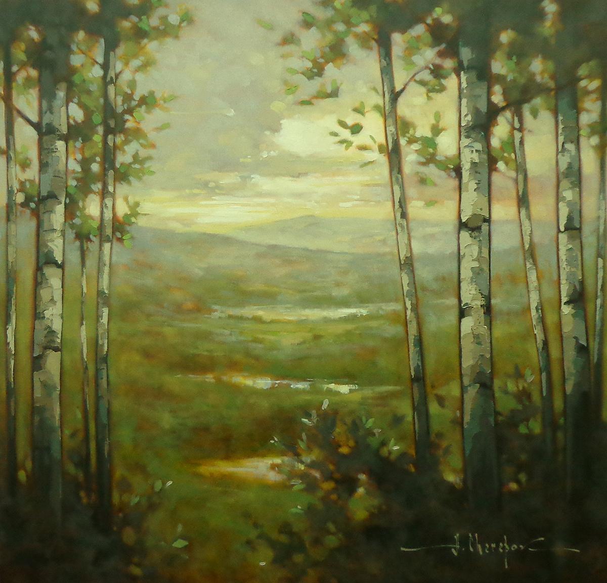 Glass Trees 30x30