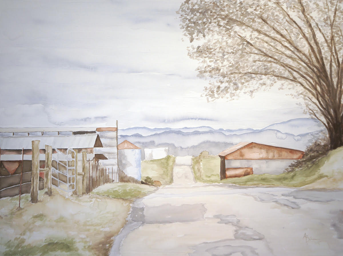 Dairy Road 30x40