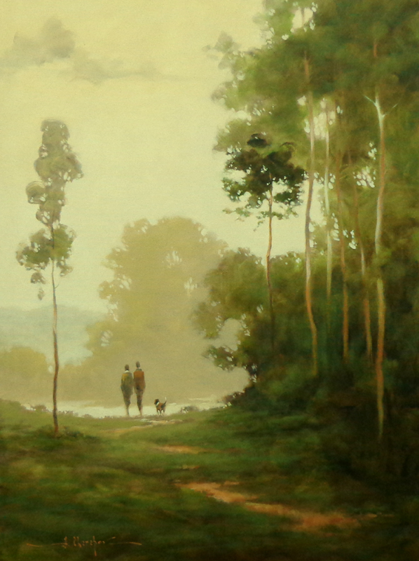 By the Path 30x40