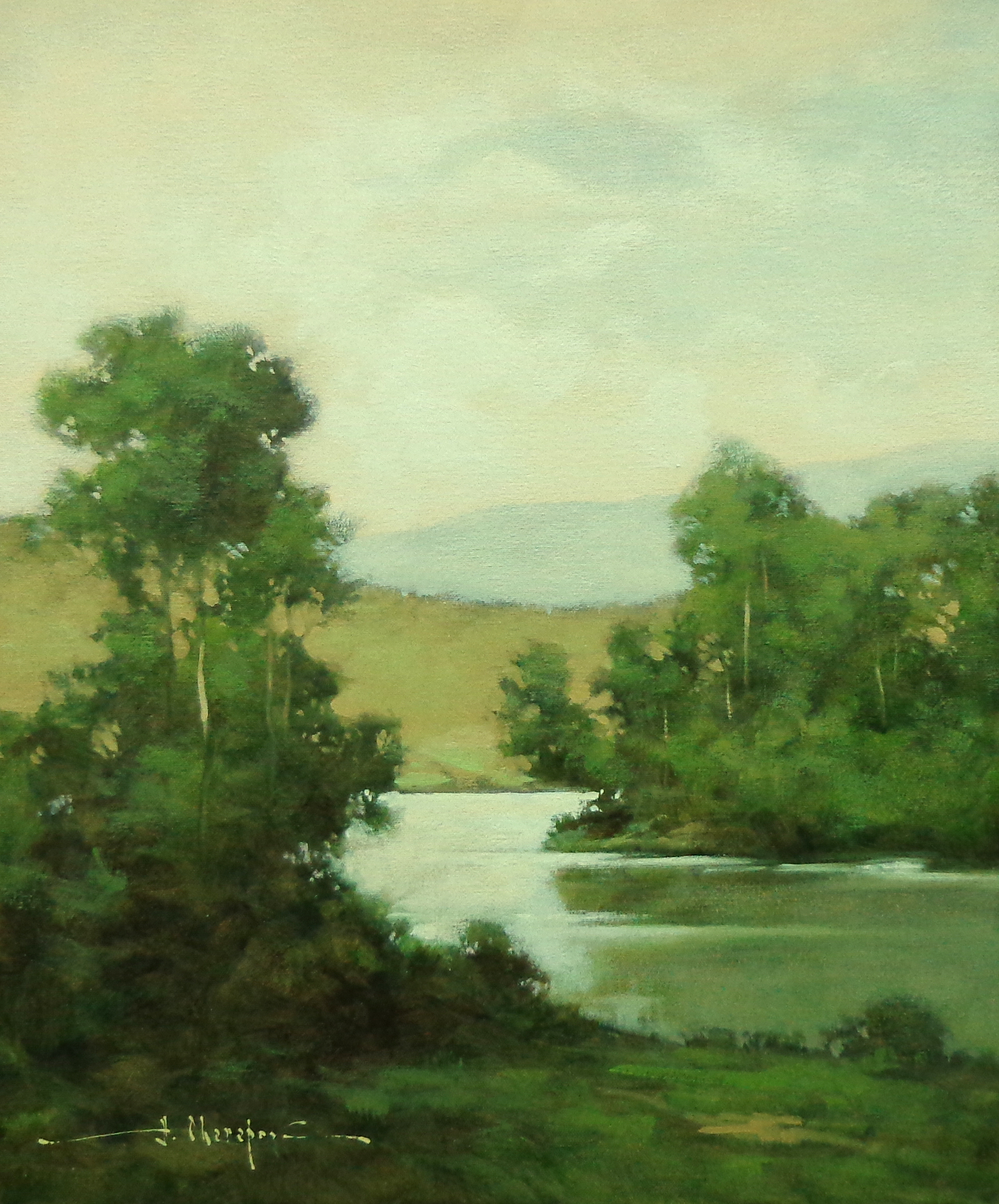 Bank of the River 16x24