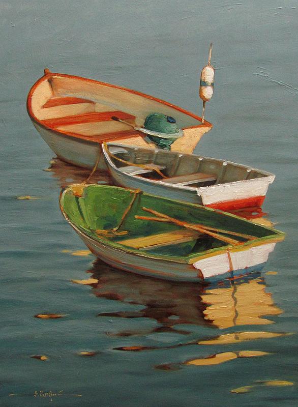 Rowboats 30x30