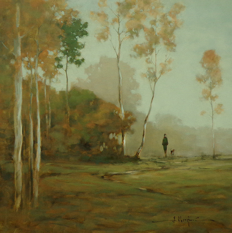 Walking in the Forest 36x36