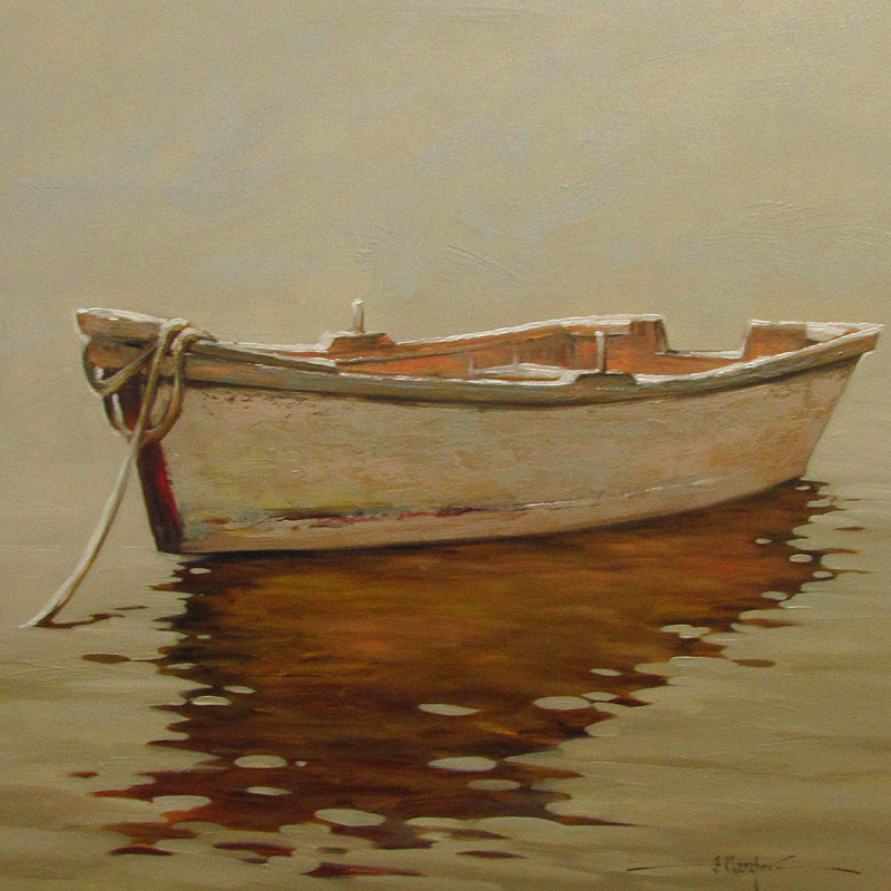 The White Boat 36x36