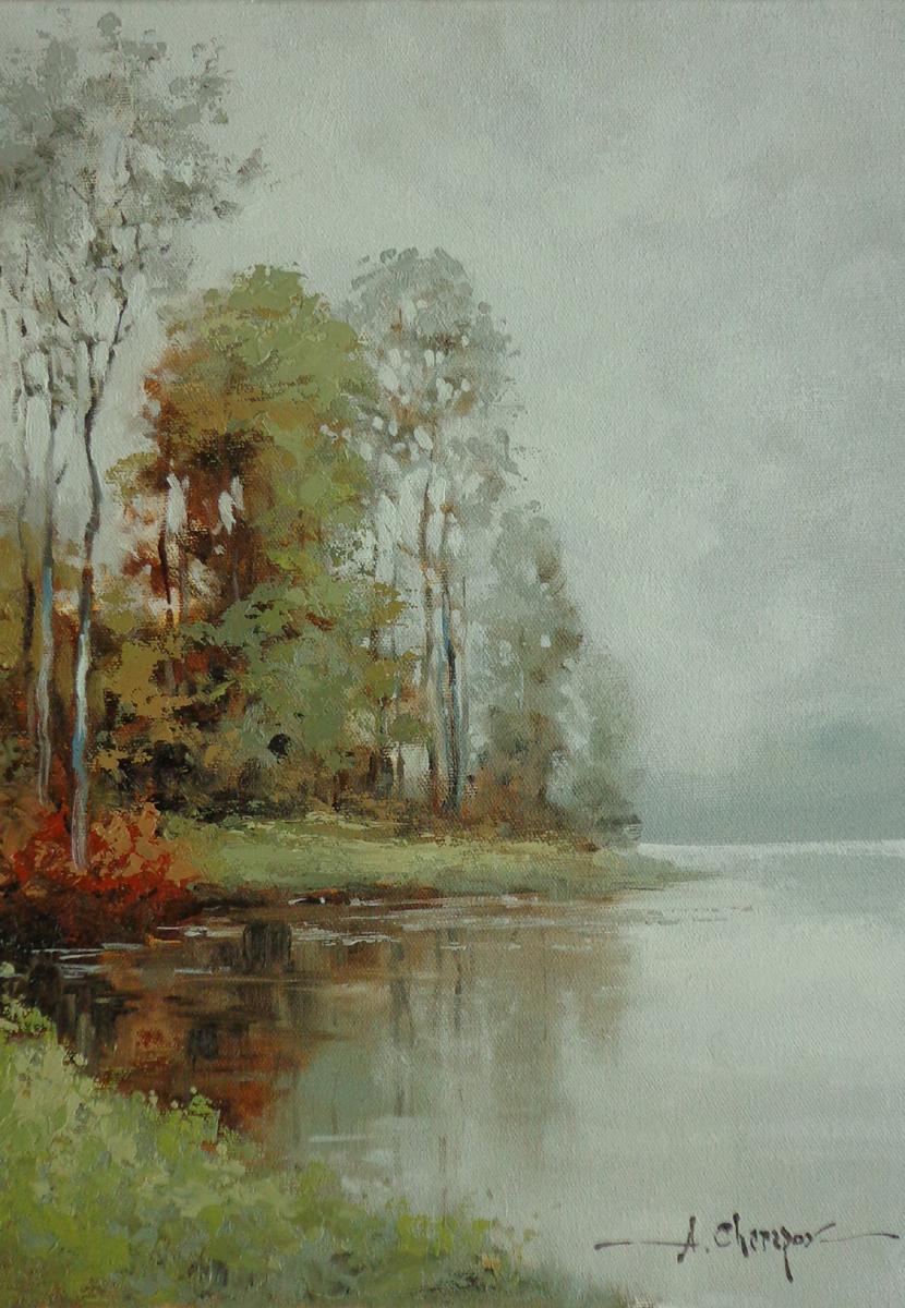 Russian Lake I 12x16