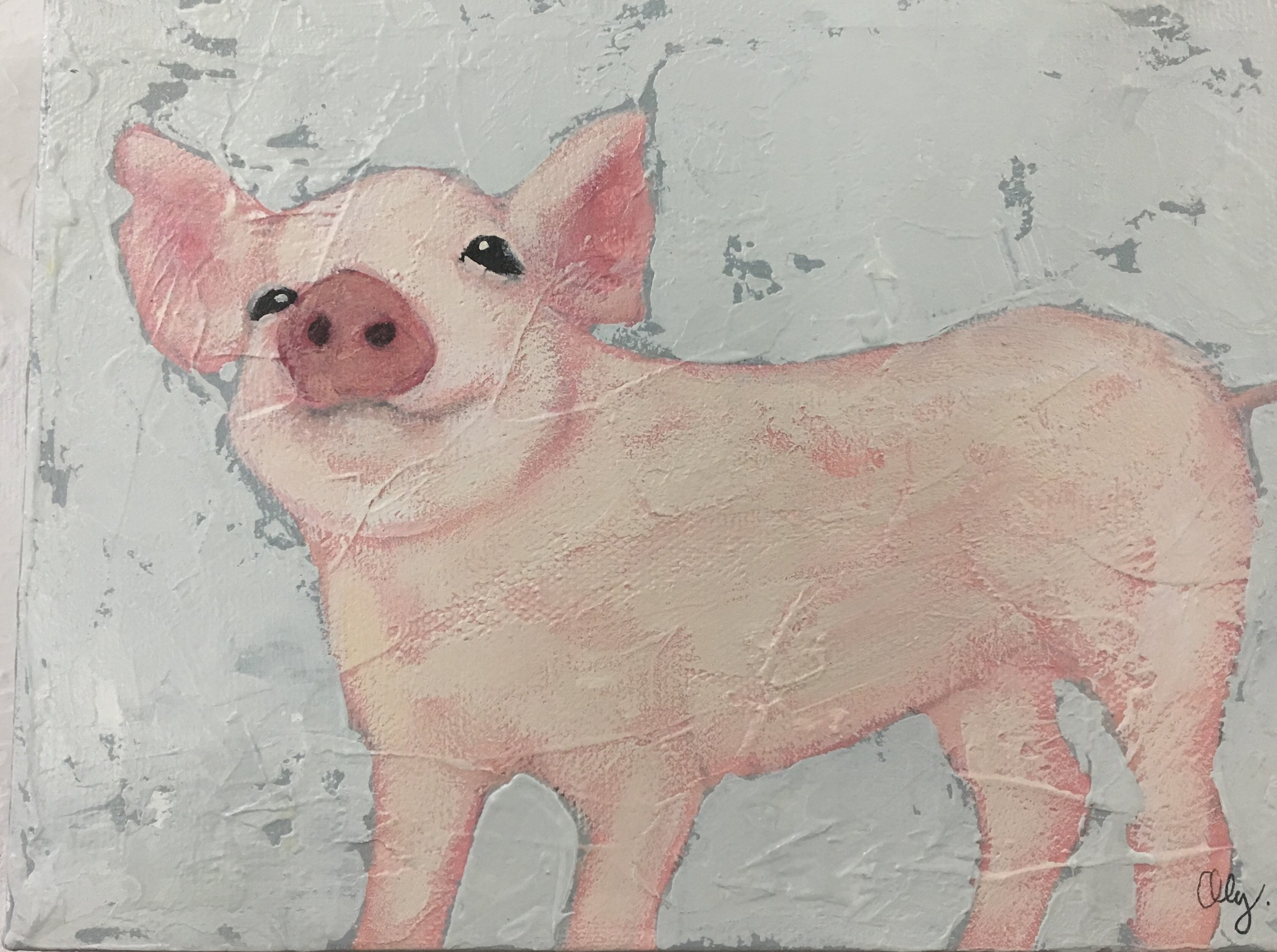 Sweet Pig II 6x8