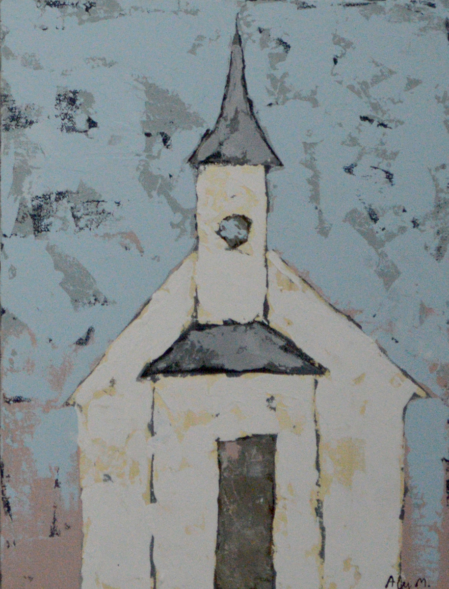 Where I Learned to Pray II|12x16
