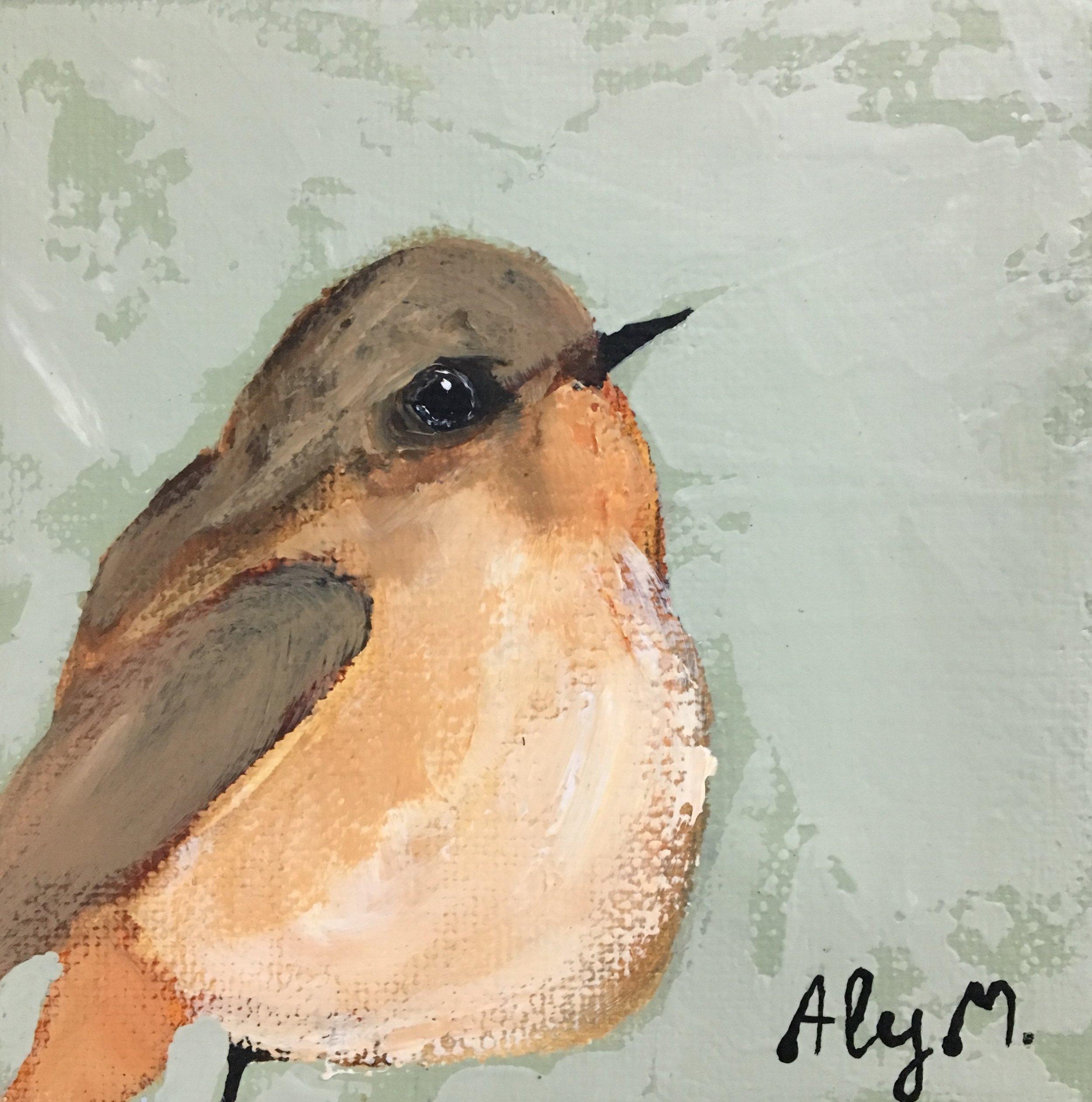 Little Warbler I|5x5