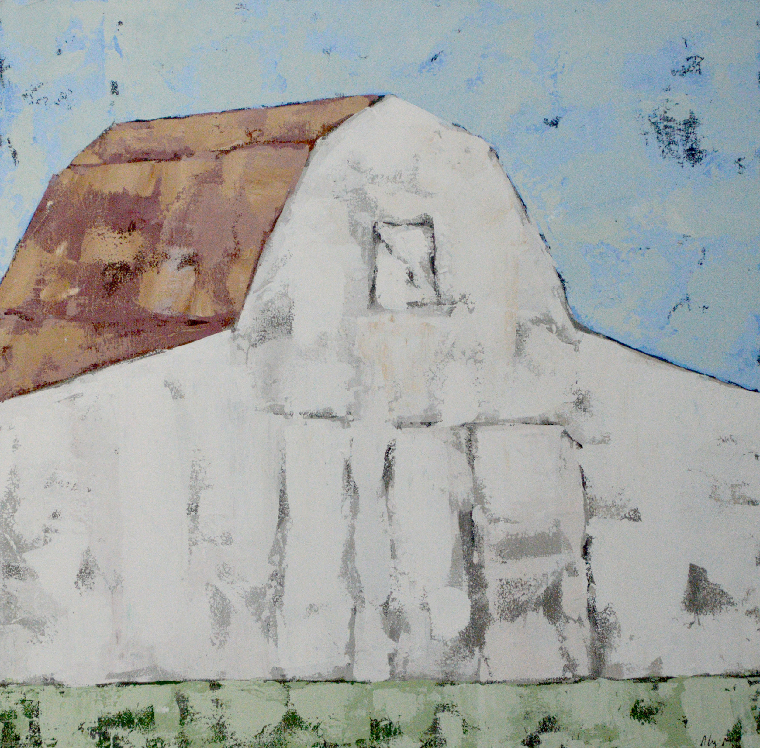 Southern Landmark I|36x36