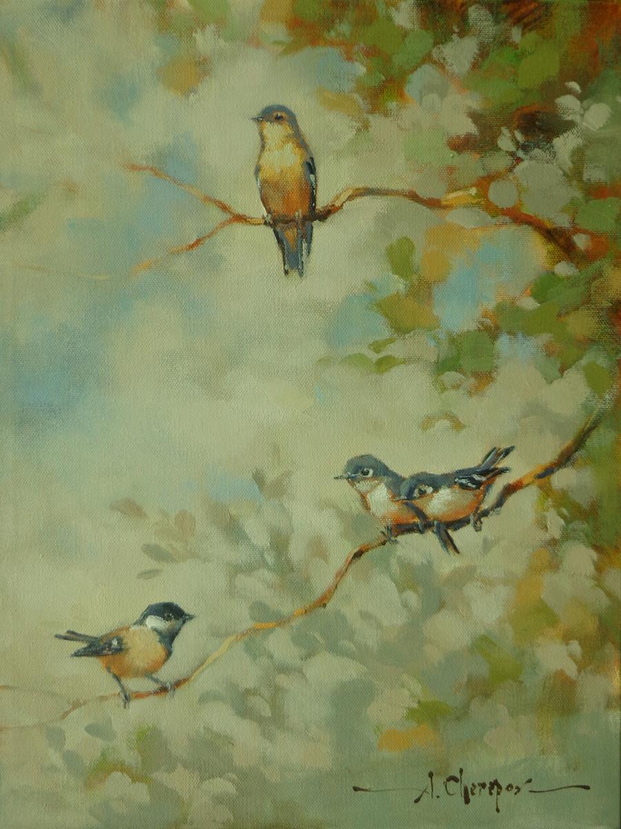 Birds 101 12x16