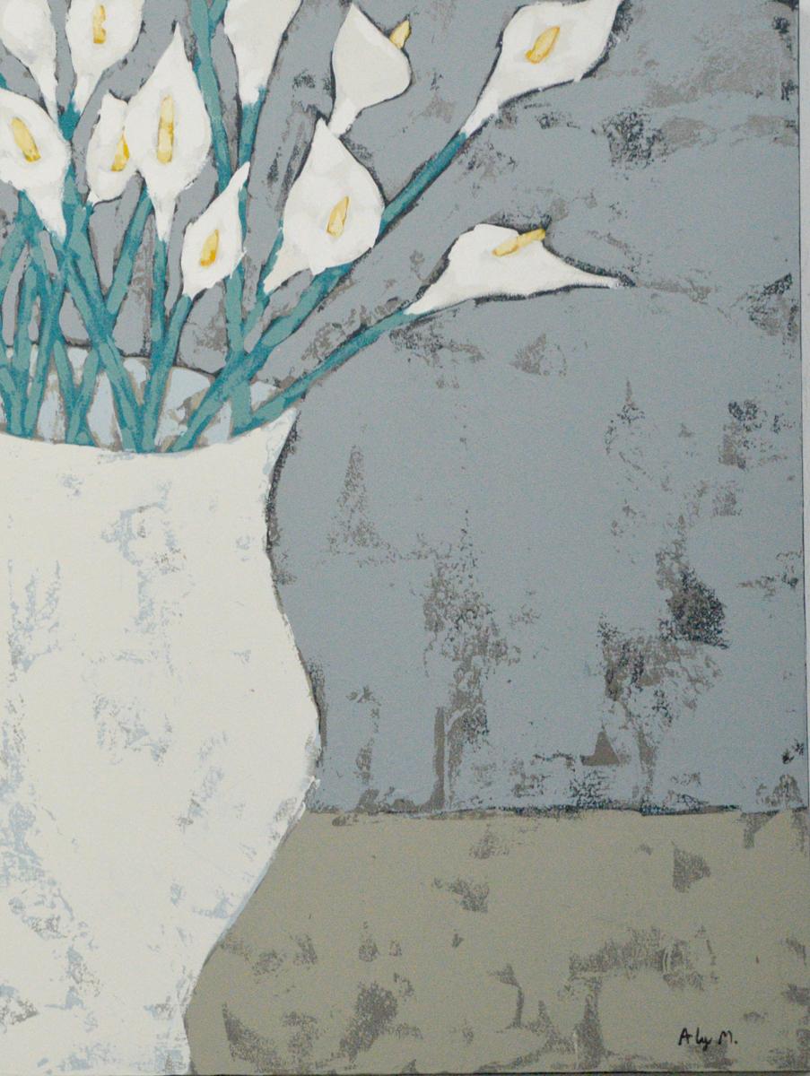 Peaceful Bouquet|30x40