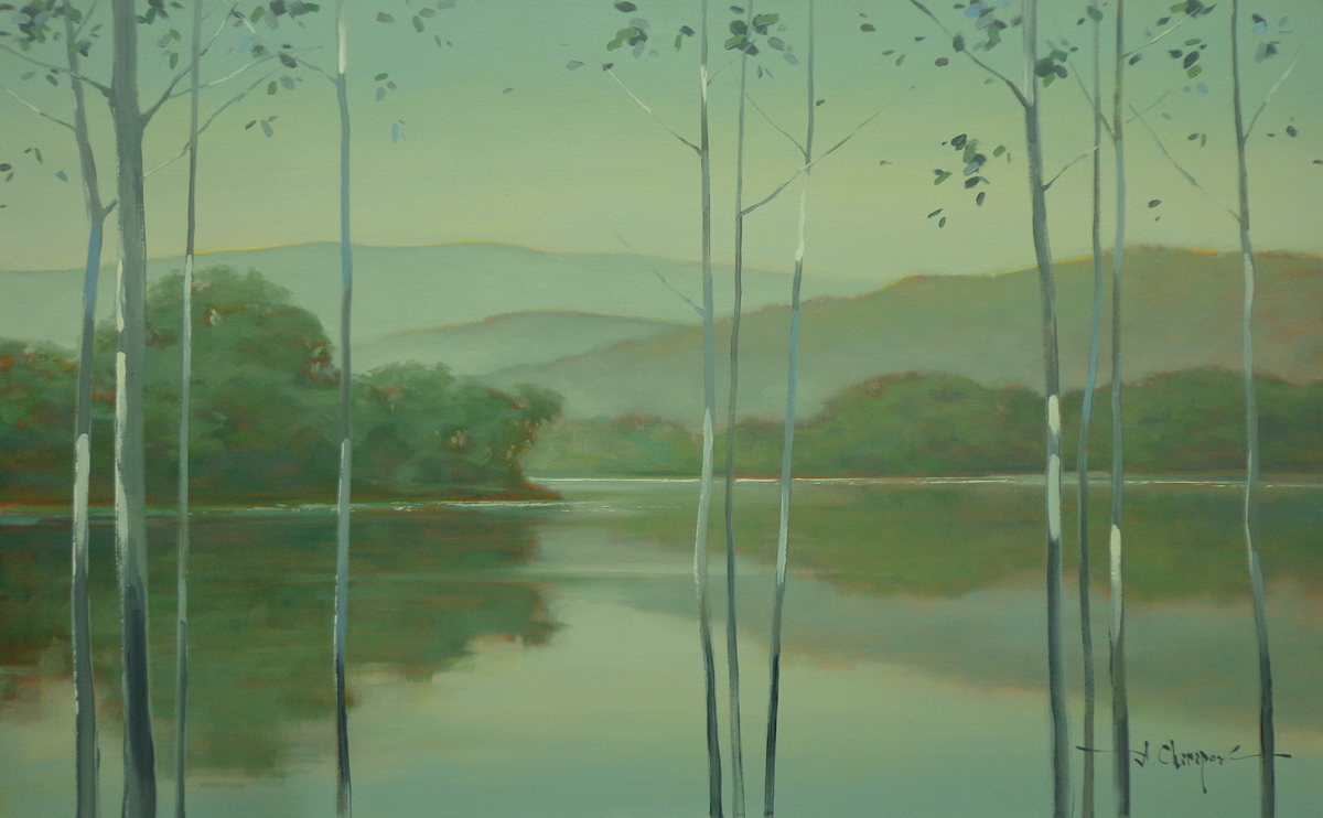 From the Bank of the River|30x48