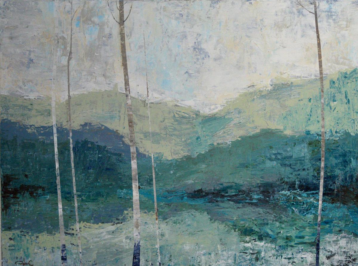 Birches|30x40