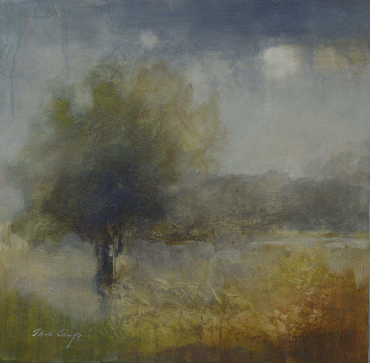 Evening Trees I|20x20
