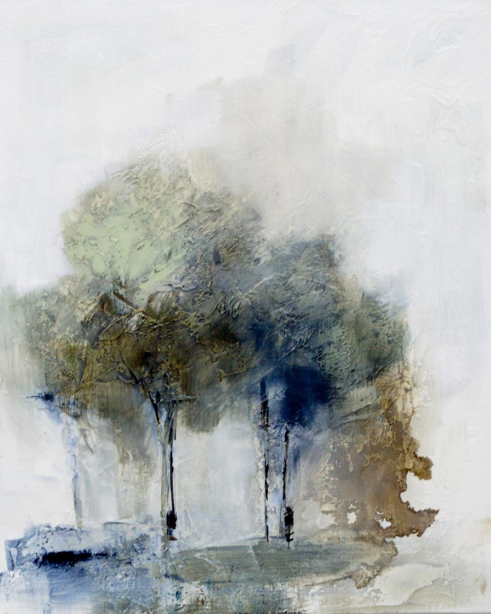 Thinking Trees III|16x20