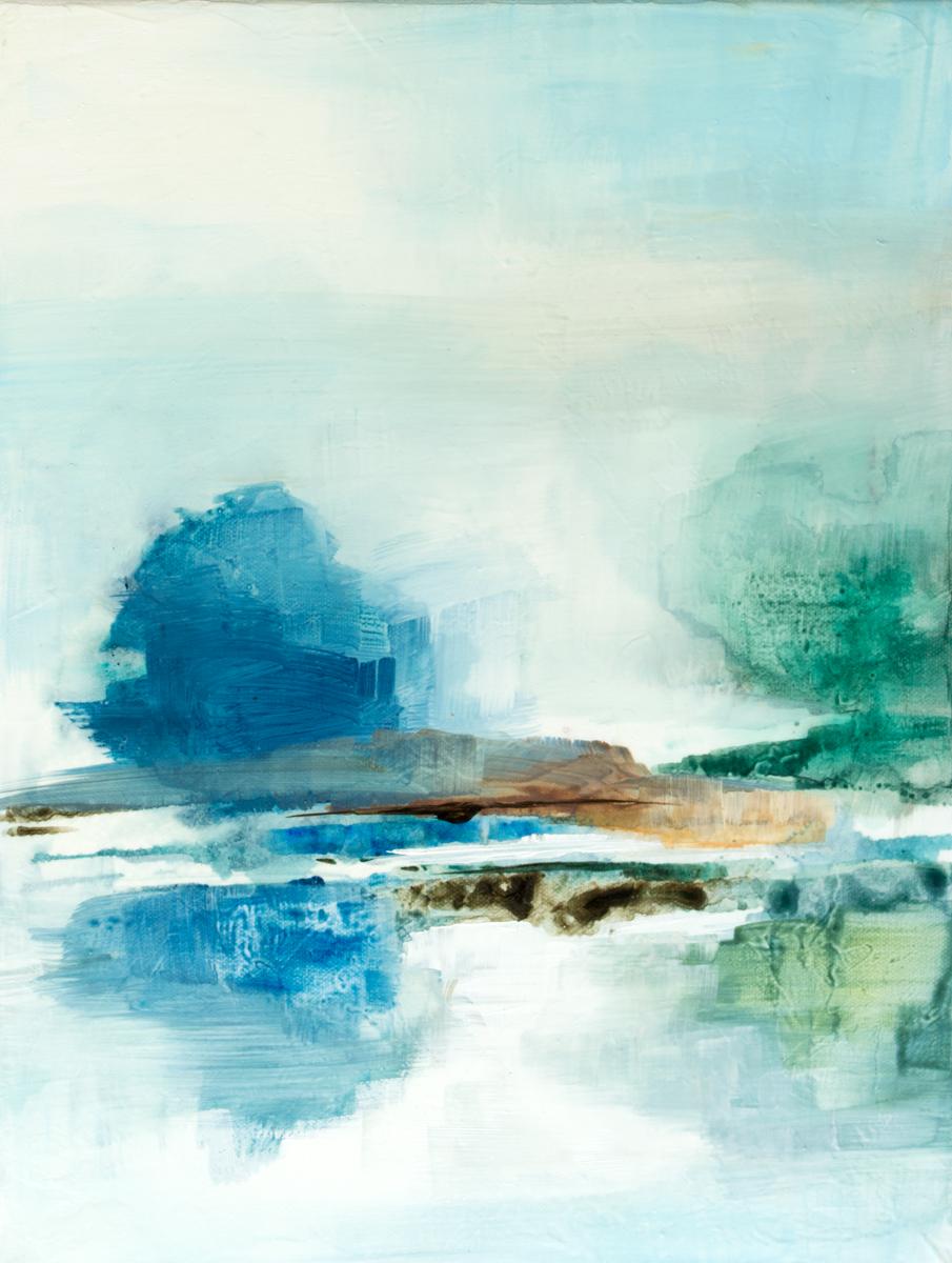 Blue Pools III|12x16