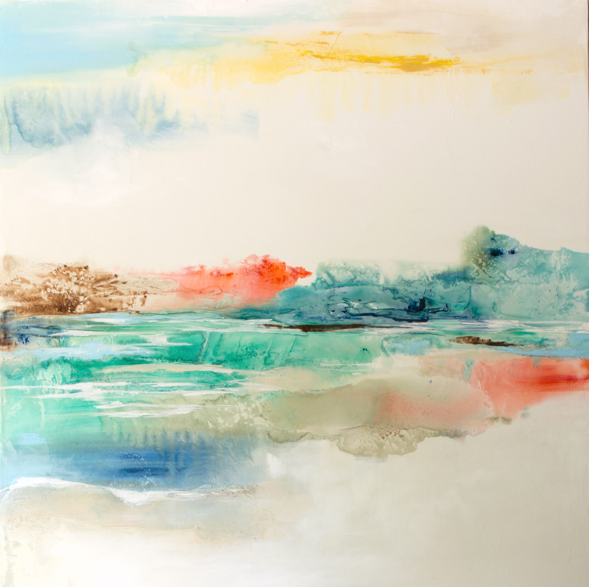 Shimmer on the Lake|48x48