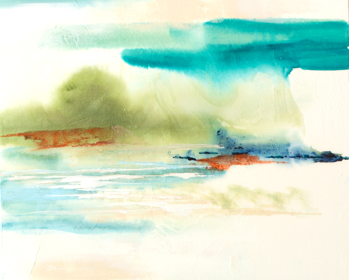 Lake Shimmer Series I|16x20