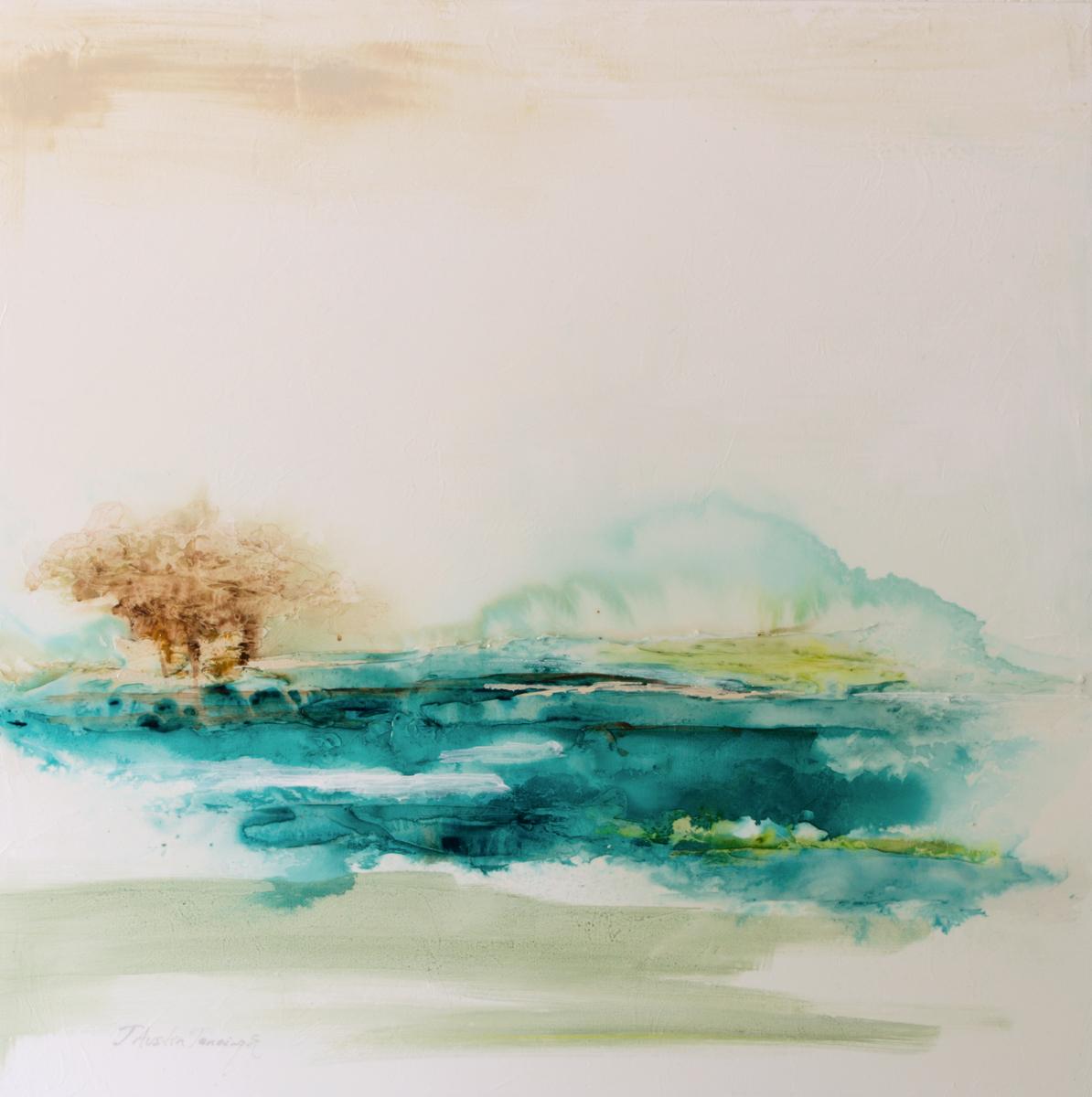 Aqua Waters I|30x30