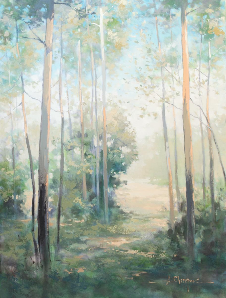 Springtime Forest 36x48