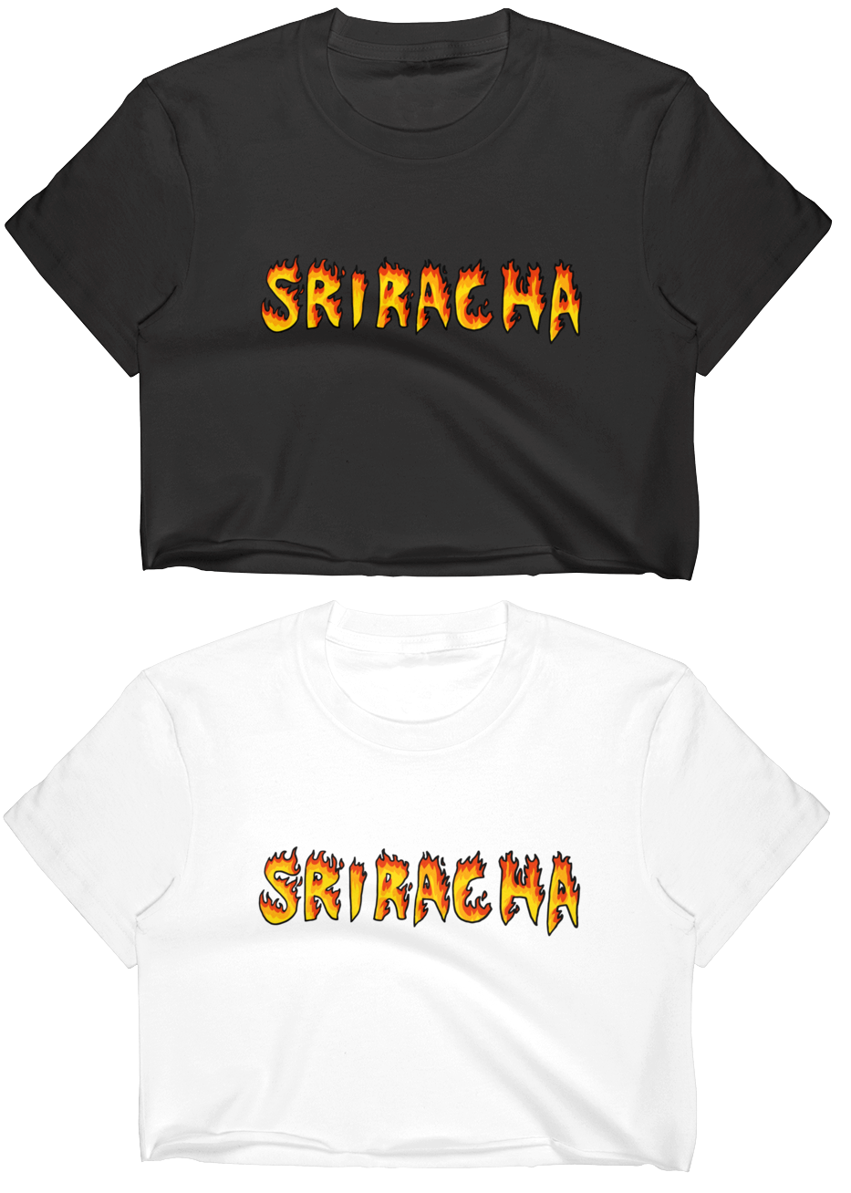 Crop top Sriracha 🌶 - 100% coton pour ne pas irriter tes tétons.Edition limitée !Tailles : S - M - L