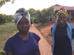 Amina and Leokardia, 2016 SEGA graduates.