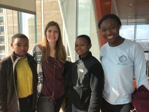 Esther and Jacqueline spent a day visiting Columbia University. They were given a tour of the College of Dental Medicine by two Columbia students who had spent their summer at SEGA conducting oral hygiene surveys and teaching the students proper oral hygiene management.