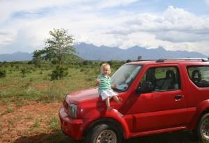 The undeveloped plot of land in Morogoro before construction of the SEGA Girls School began.