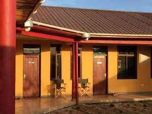 he SEGA Lodge has 6 Rooms, each with its own bathroom; and outdoor patio!