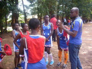 SEGA students during Tanzania's UMISETA sports competition for secondary schools.