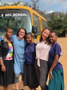 Sarafina, Angie, Amina, Lissy and Debrah