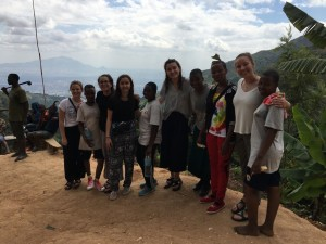 MEGA and SEGA Girls on the Hike! From Left -Tatum, Debrah, Angie, Penelope, Maria, Zoe, Anyesi, Sarafina, Lissy, and Amina