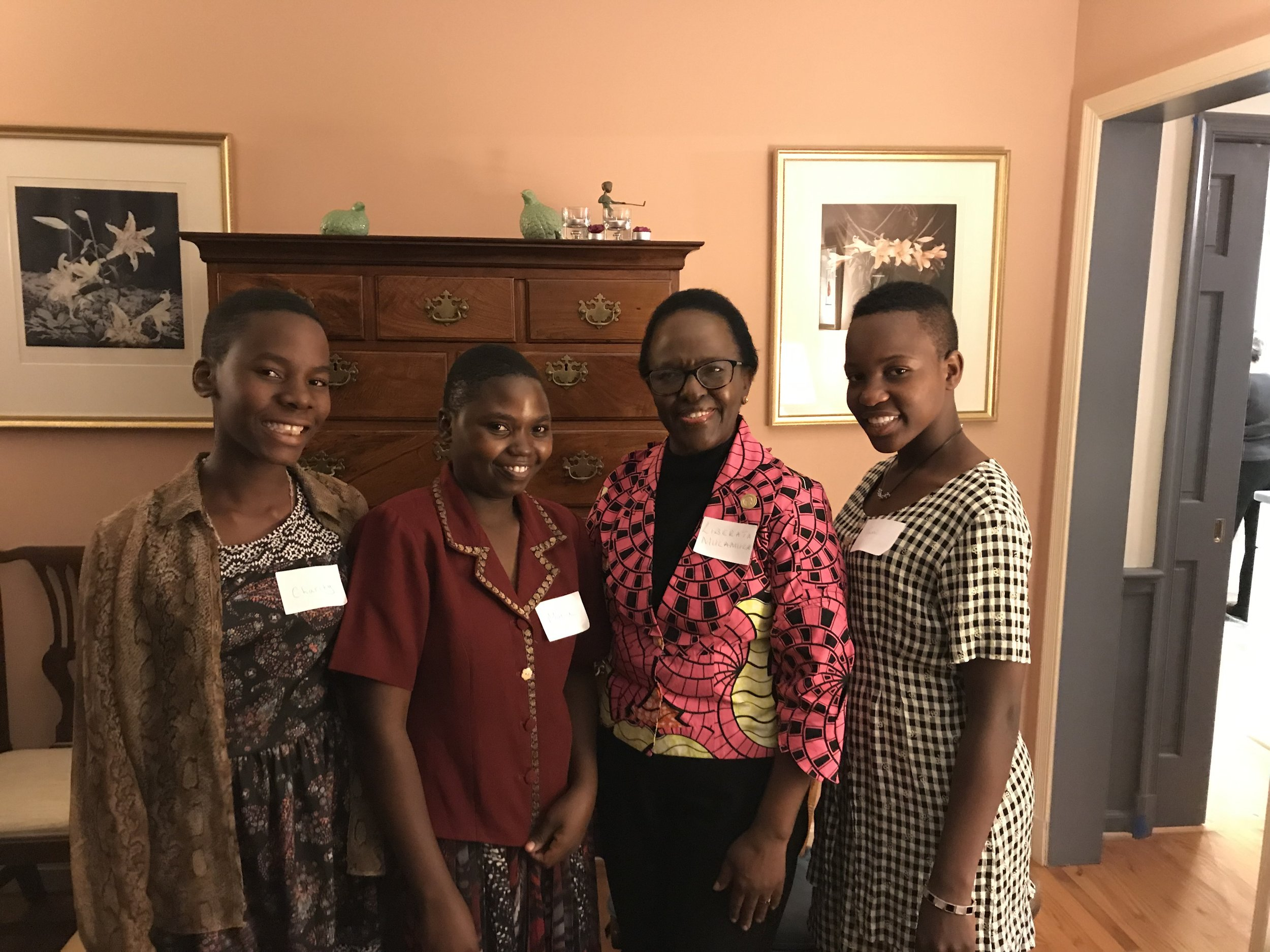 Meeting Ambassador Mulamula in Washington D.C.